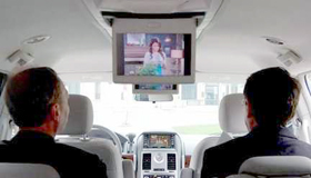 mobile video system, auto video installation, car gaming, car truck television, portable video system, in-dash television, back seat video, mobile tv, auto mobile gaming, auto monitor